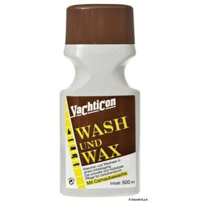 Detergente e lucidatore YACHTICON Wash and Wax