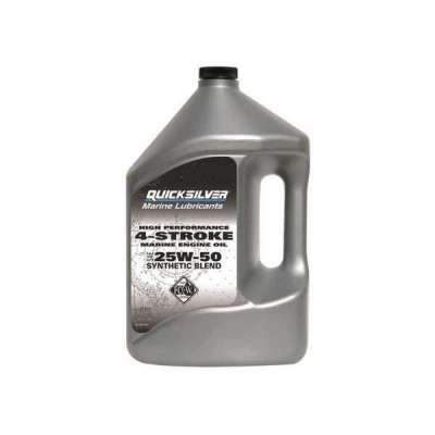 Olio Quicksilver 4 tempi High Performance Synthetic 25W-50