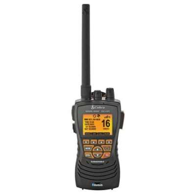 VHF Cobra MR HH600 GPS BT DSC - Nero